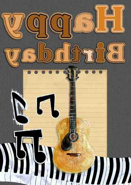 Comment jouer joyeux anniversaire à la guitare