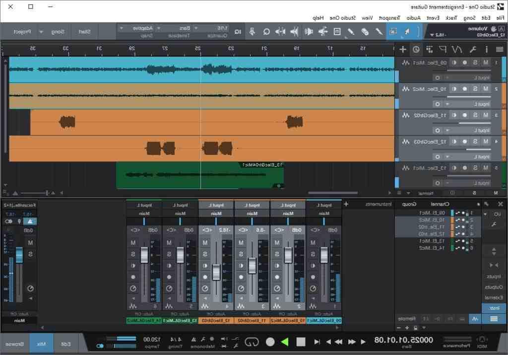 Quel logiciel pour enregistrer la guitare?