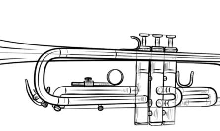 Comment dessiner une trompette