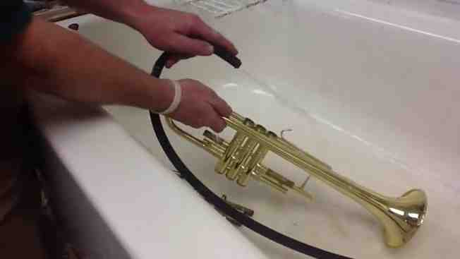 Comment nettoyer une trompette